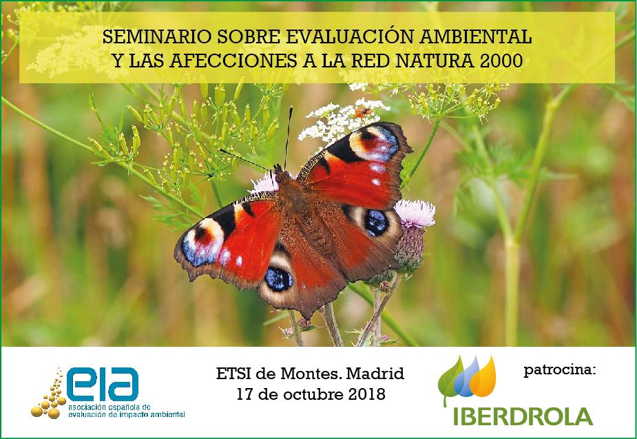 Seminario sobre Evaluación Ambiental y las afecciones a la Red Natura 2000